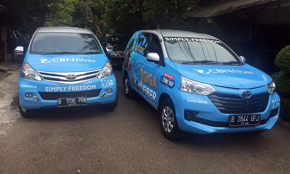 Branding Mobil CBN